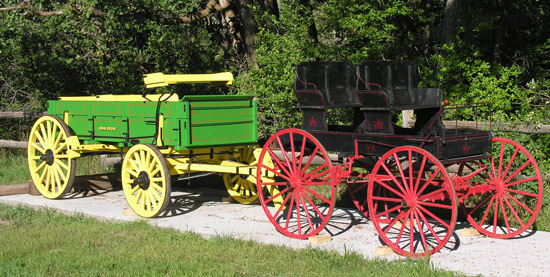 antique wagons